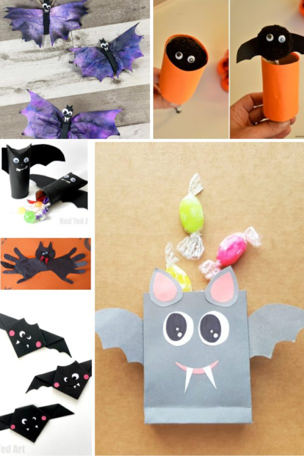 Bat Craft Ideas For The Perfect Halloween Craft