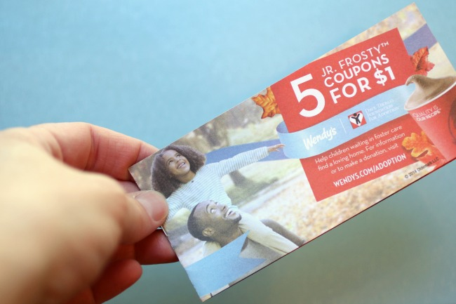 Wendys Halloween Coupon book for Adoption