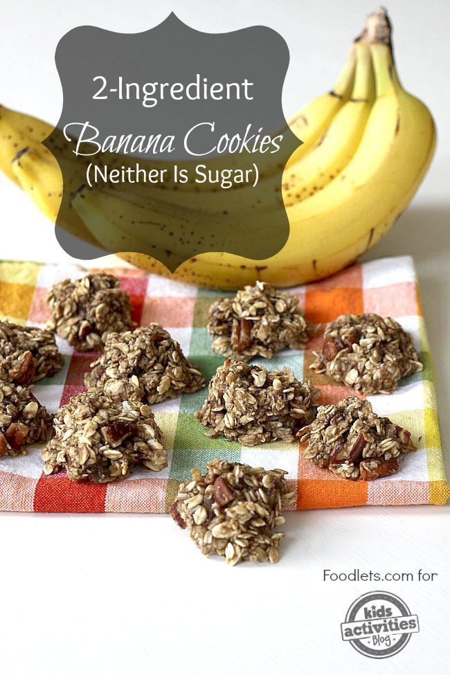 banana cookies, foodlets