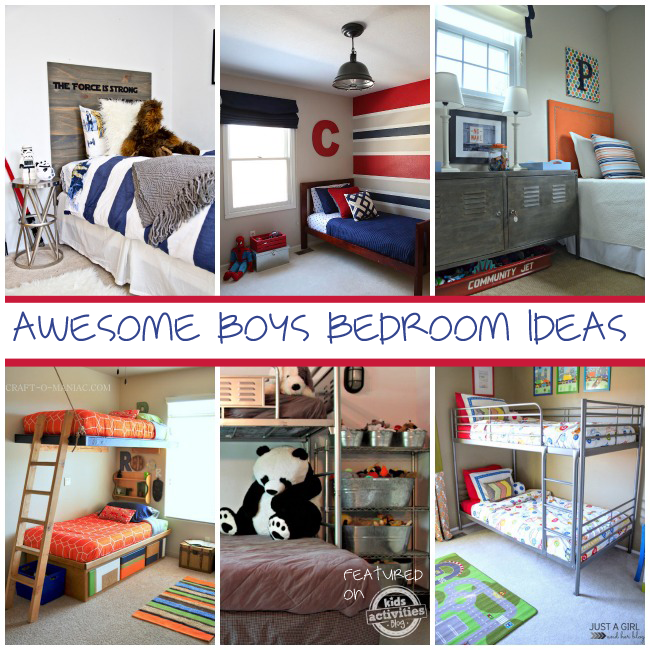 A Perfectly Organized Mudroom Just A Girl And Her Blog: 20 Boys Room Ideas Designed By Moms