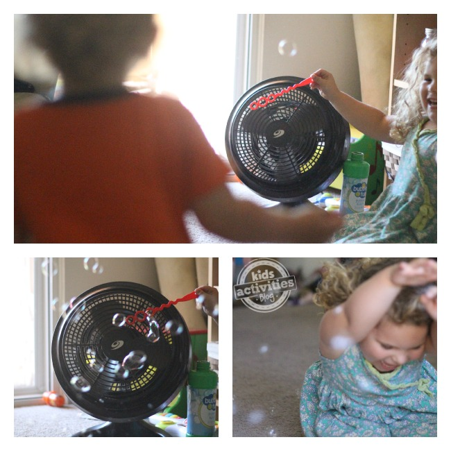 Simple bubble machine that you can make in your house with no prep!