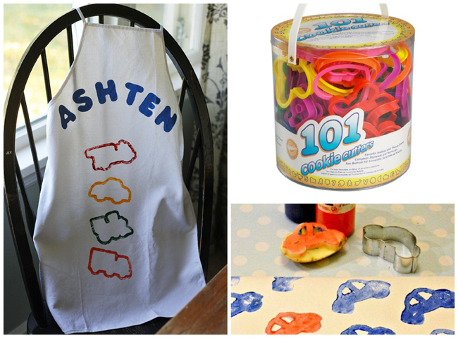 http://craftsbyamanda.com/2013/12/cookie-cutter-stamped-apron.html