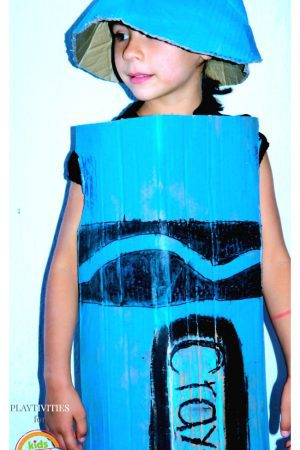 crayon costume for halloween