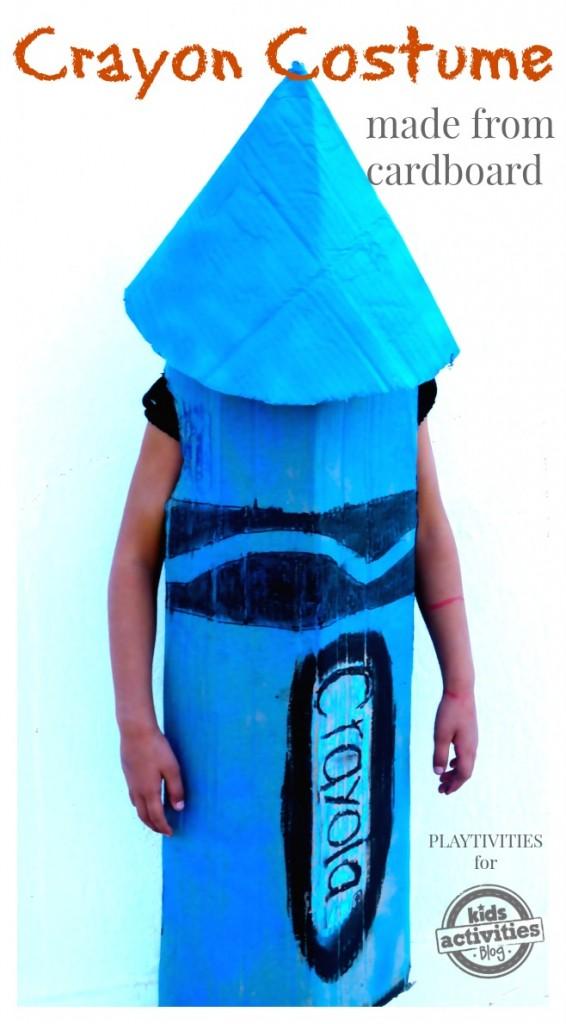 halloween crayon costume