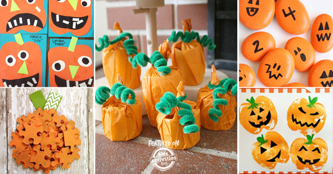 30 Easy Pumpkin Activities