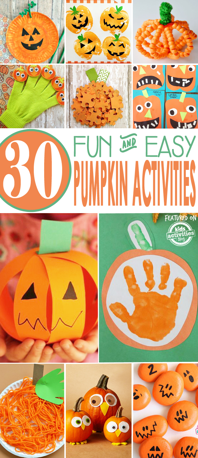 toddler halloween crafts 30 easy pumpkin activities 3121