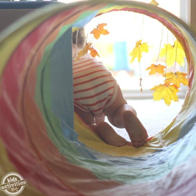 Faire un jeu de bébé d'automne facile