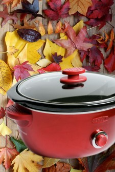 fall crockpot feature