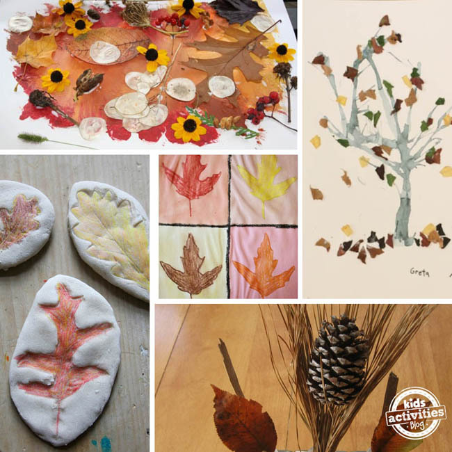 16 Fall Nature Crafts for Preschoolers