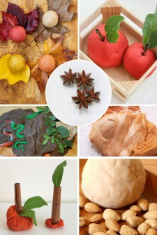 fall playdough feature