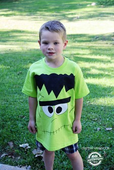 How to Make a Frankenstein Shirt