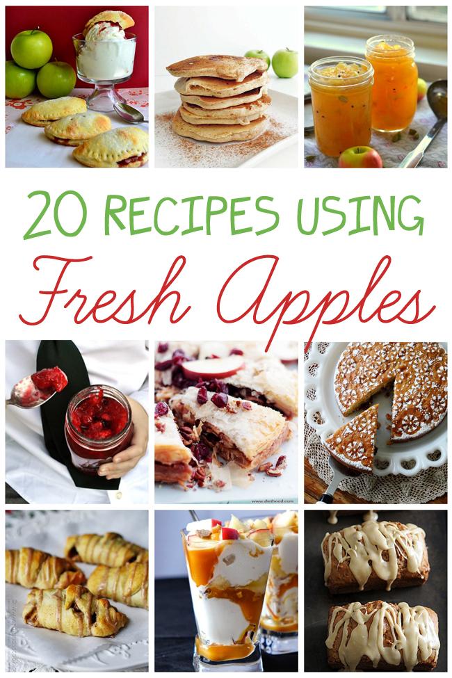 20 Recipes Using Fresh Apples