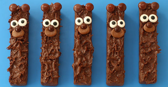 Chocolate Fudge Stick Bears