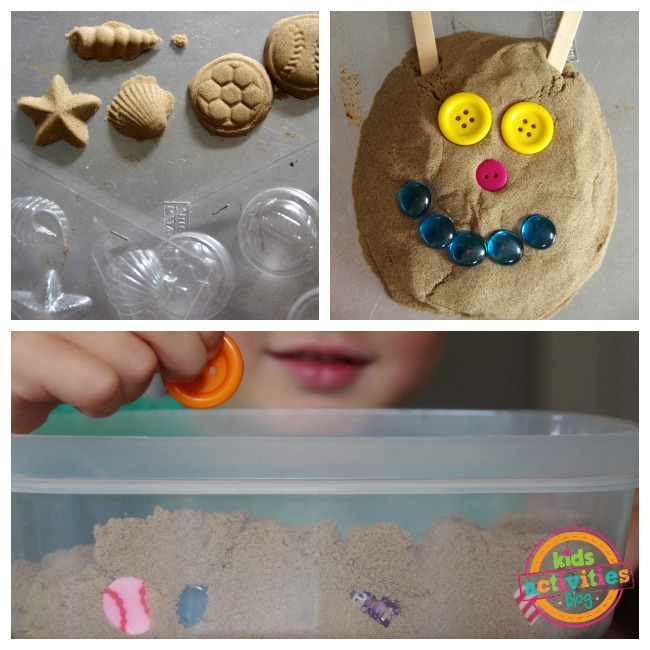 kinetic sand play kids 3