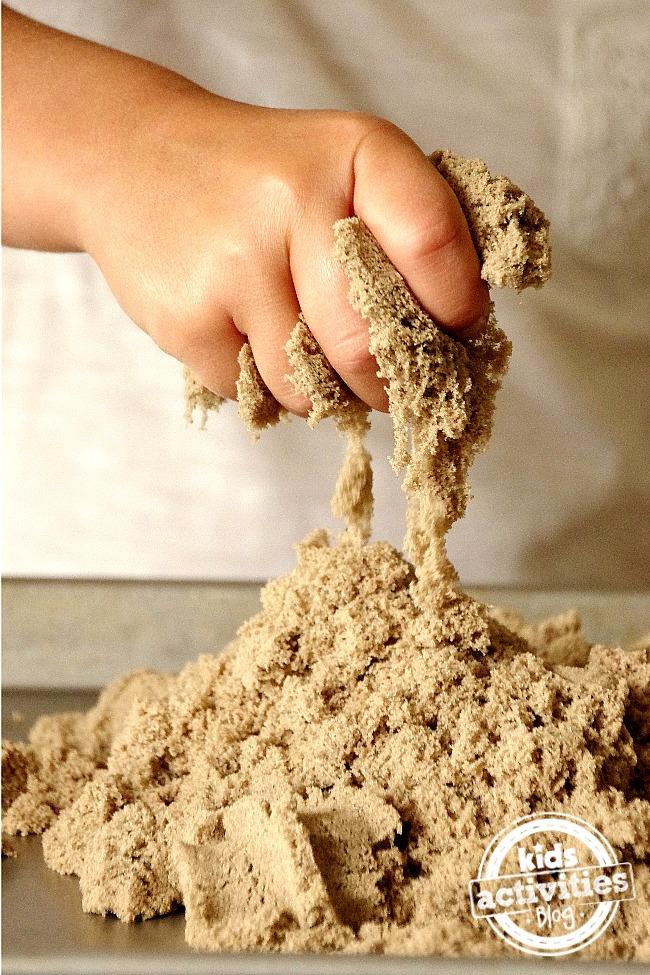 kinetic sand play kids ideas