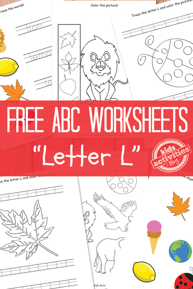 Letter L Worksheets Free Kids Printable – Letter L Worksheets Kindergarten
