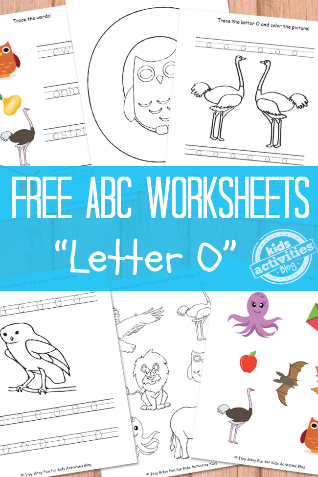 letter o worksheets letter o worksheets free printable 33961