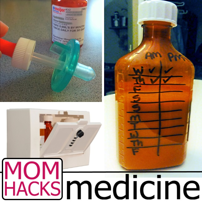 medicine Hacks for moms who love their kiddos