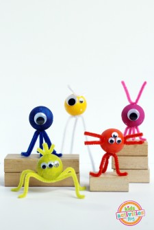 Ping Pong Ball Monster Craft
