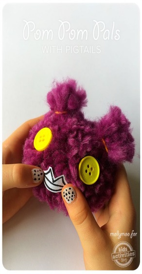 Pom Pom Pals With Pigtails Kids Activities Blog
