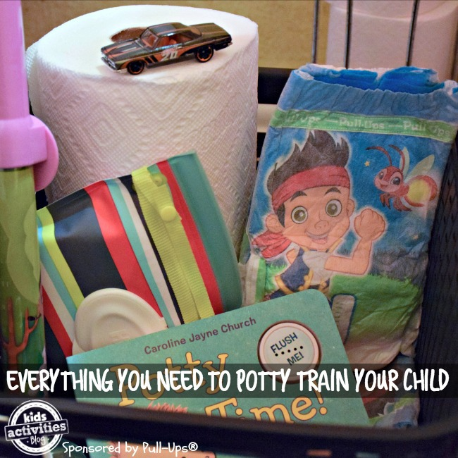 potty training basket everything you need