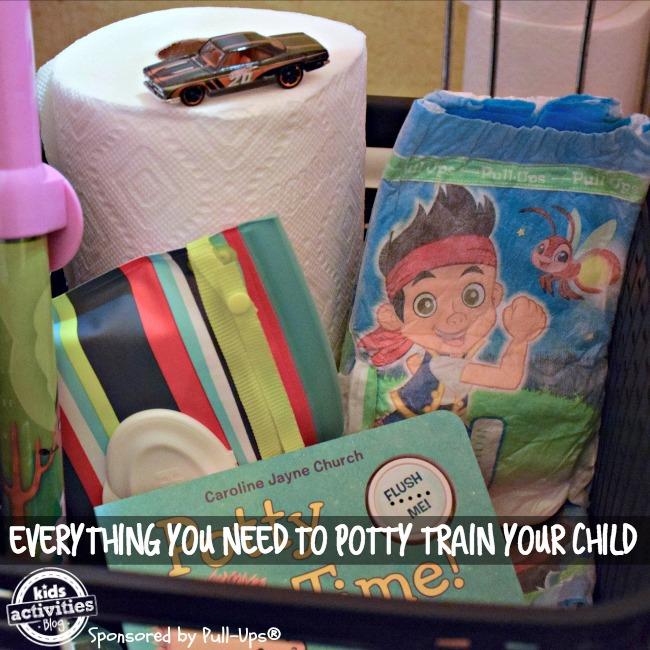 potty training basket everything you need