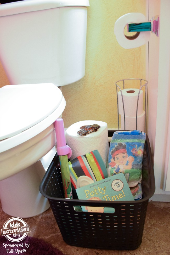 potty training basket