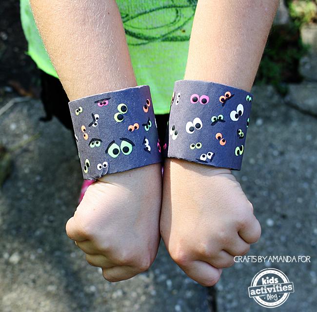 Spooky Eyeball Halloween Bracelets/Cuffs