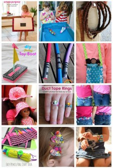 20 Duct Tape Crafts the Kids Will Love