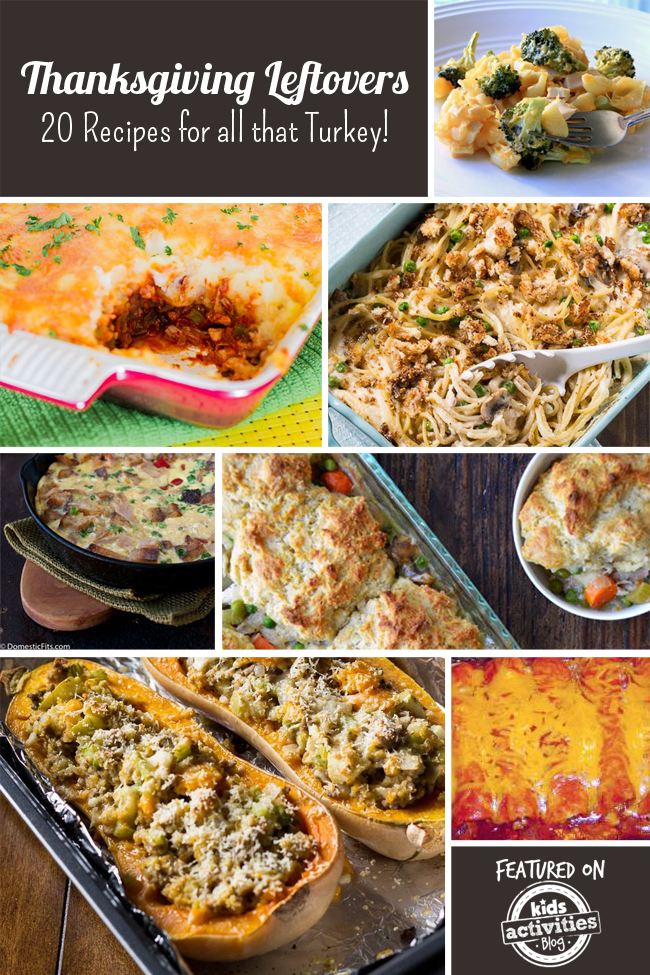 Thanksgiving Leftovers - 20 Recipes for All That Turkey