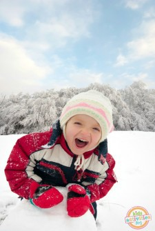 25 ideas for playing with snow