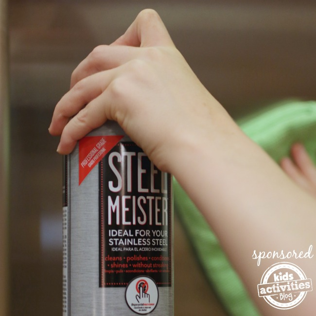 Cleaning with Steel Meister