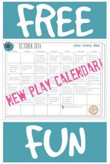 Free Play Calendar!