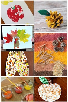 180 {Gorgeous} Fall Crafts