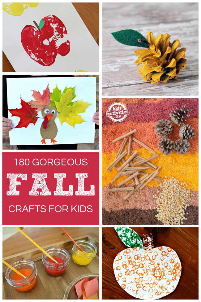180 gorgeous fall crafts for Fall ideas crafts