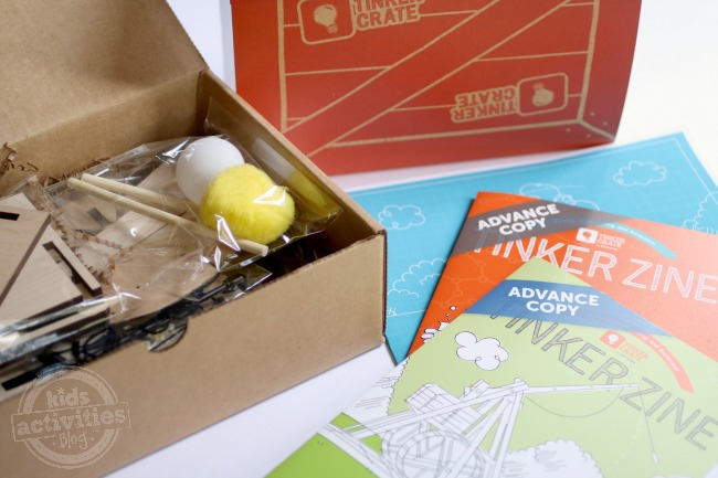 Kiwi Crate Tinker Crate Subscription Box