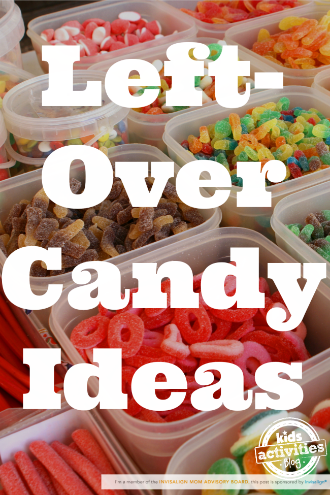 Left-Over Candy Ideas