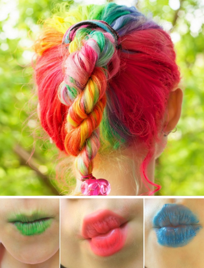 Make up hacks and tips for kids who love color
