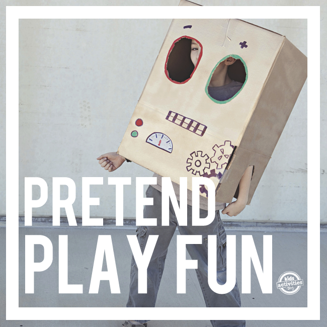 75 Pretend Play Ideas
