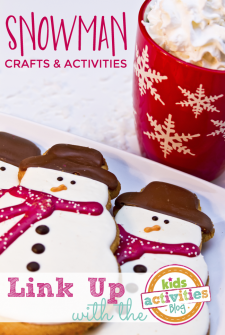 Snowman Crafts and Activities ~ Add Yours!
