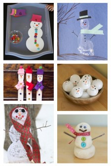 50+ {Festive} Snowman Crafts & Activities