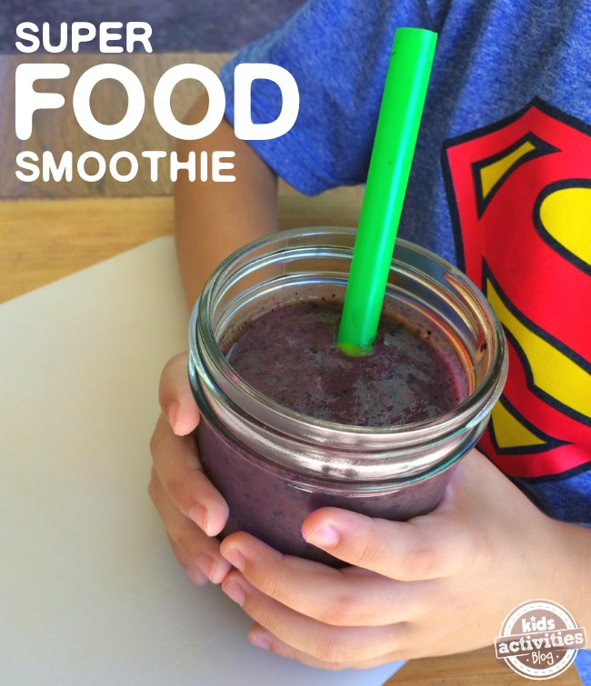 TASTY superfood veggie smoothie