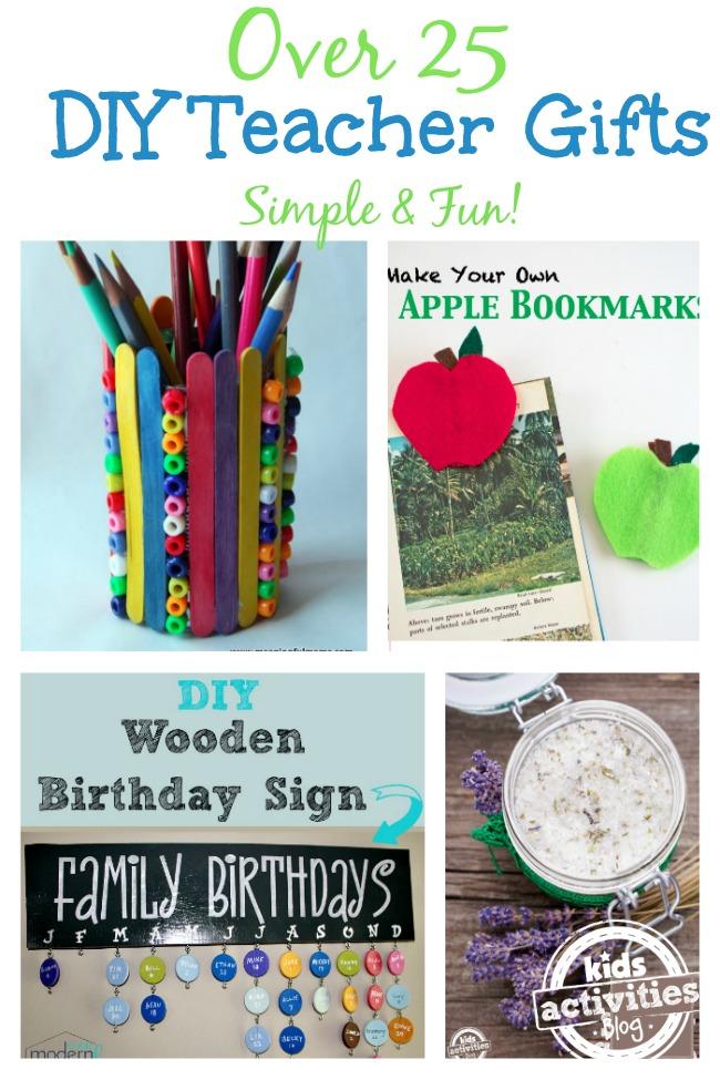 27 DIY Teacher Gift Ideas for Teacher's Appreciation Week
