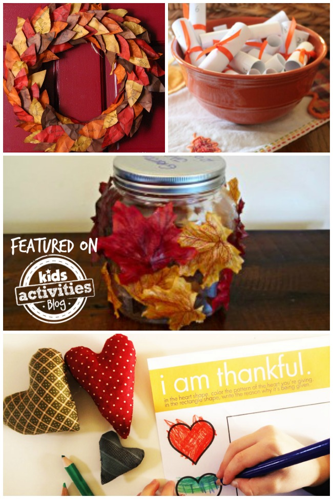 Thankfulness Activities for Kids Feature Image