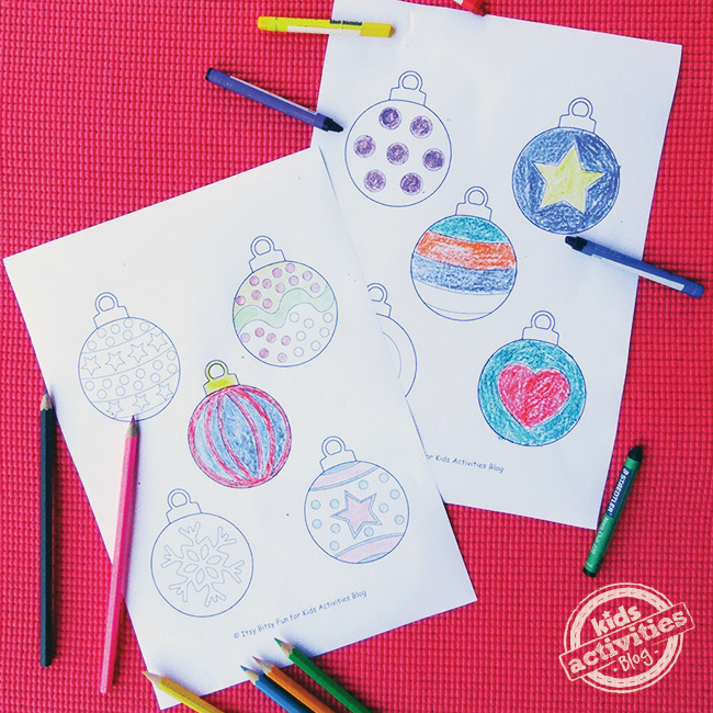 Printable Ornaments