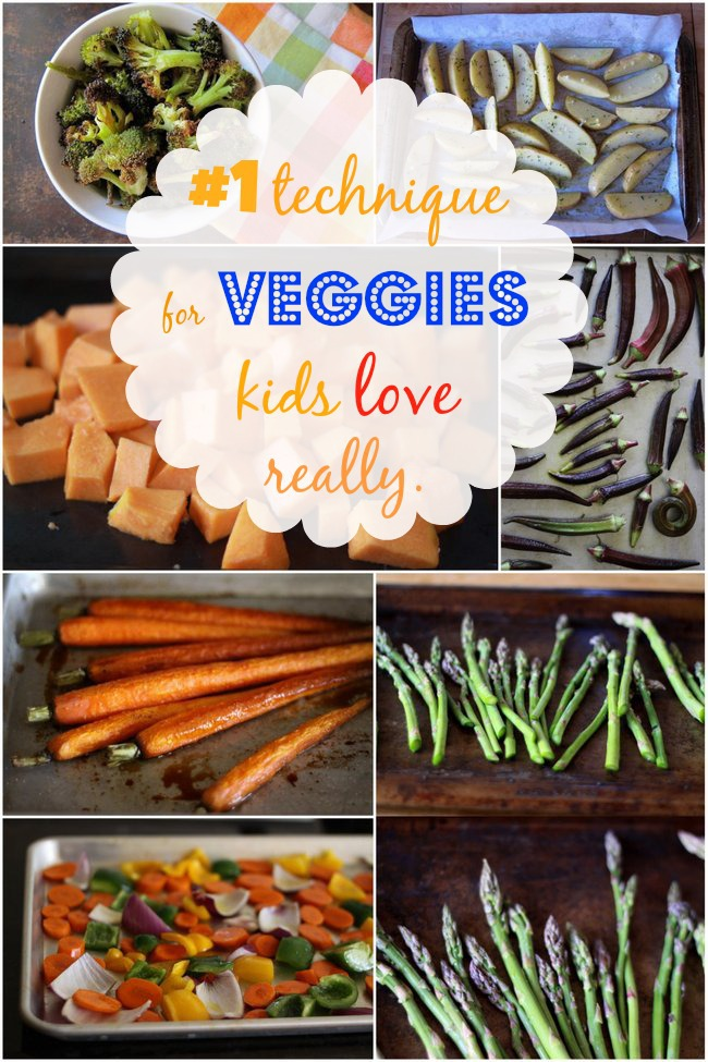 VEGGIES KIDS LOVE
