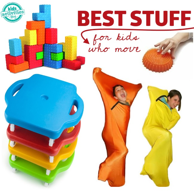 best products for kids who cant stop moving