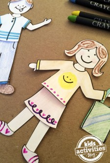 Design My Own Paper Dolls Printable