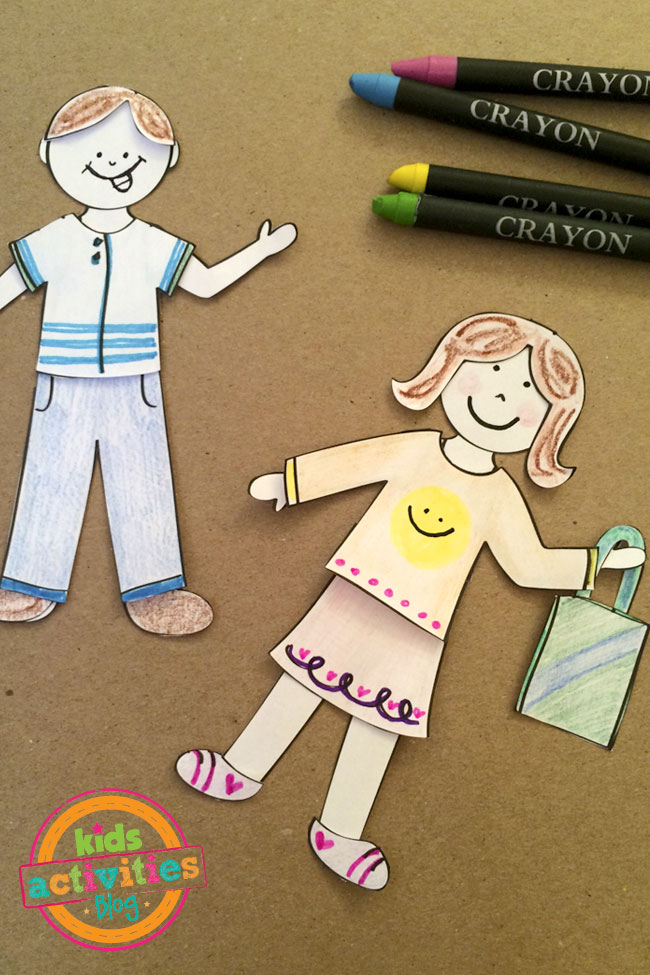 Design My Own Paper Doll Set created by Jen Goode
