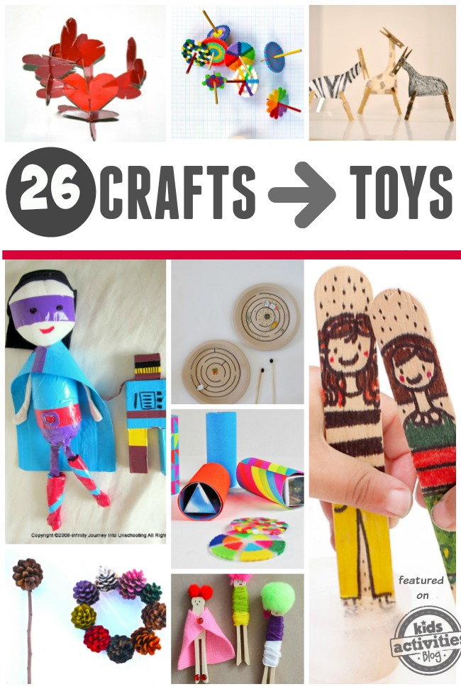 diy toys that turn into crafts
